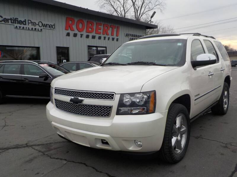 2011 Chevrolet Tahoe for sale at Roberti Automotive in Kingston NY
