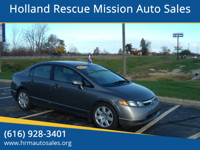 2006 Honda Civic for sale at Holland Rescue Mission Auto Sales in Holland MI