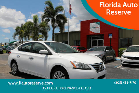 2015 Nissan Sentra for sale at Florida Auto Reserve in Medley FL