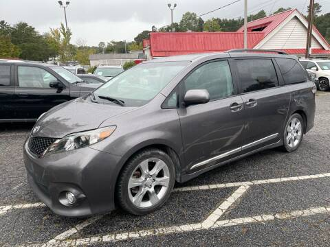 2012 Toyota Sienna for sale at Car Online in Roswell GA