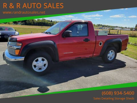 2004 GMC Canyon for sale at R & R AUTO SALES in Juda WI