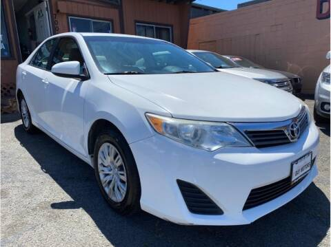 2013 Toyota Camry for sale at SF Bay Motors in Daly City CA