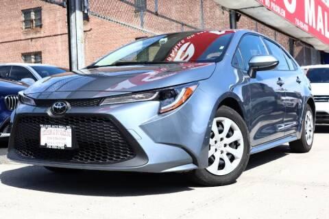 2020 Toyota Corolla for sale at HILLSIDE AUTO MALL INC in Jamaica NY