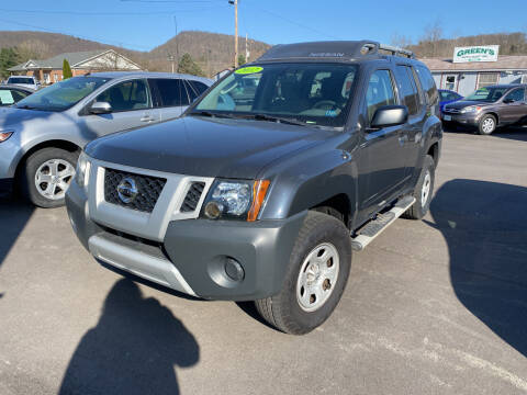 2012 Nissan Xterra for sale at Greens Auto Mart Inc. in Wysox PA