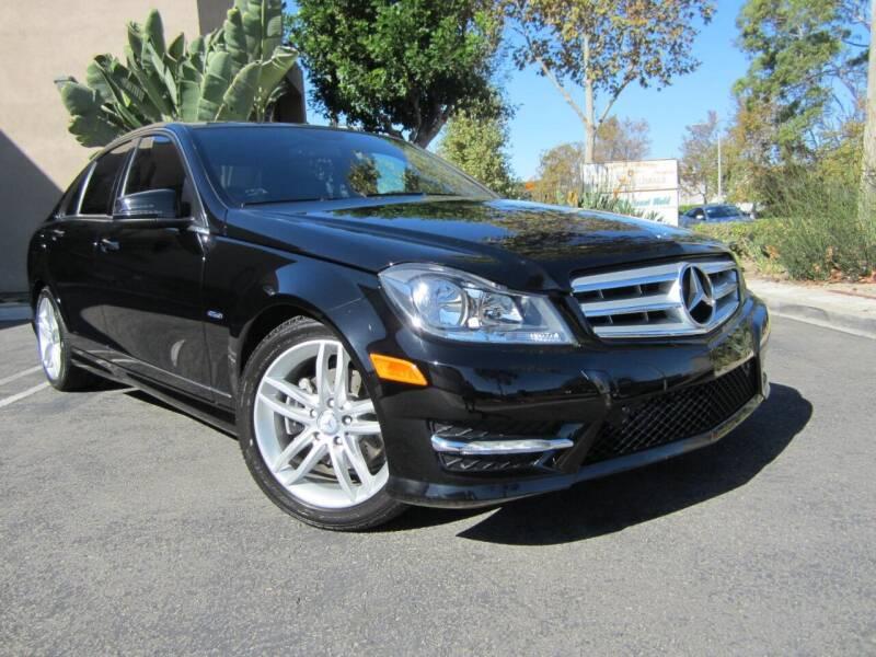 2012 Mercedes-Benz C-Class for sale at ORANGE COUNTY AUTO WHOLESALE in Irvine CA