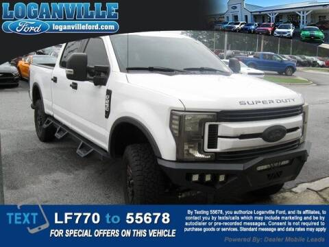 2019 Ford F-250 Super Duty for sale at Loganville Quick Lane and Tire Center in Loganville GA