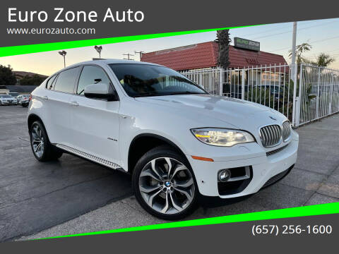 2014 BMW X6 for sale at Euro Zone Auto in Stanton CA