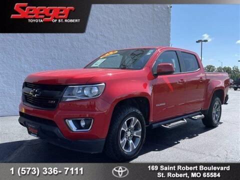 2018 Chevrolet Colorado for sale at SEEGER TOYOTA OF ST ROBERT in Saint Robert MO