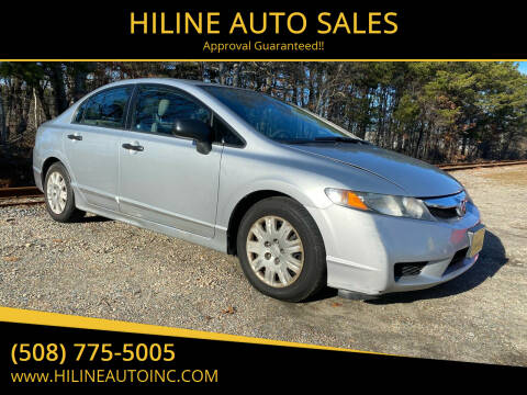 2011 Honda Civic for sale at HILINE AUTO SALES in Hyannis MA