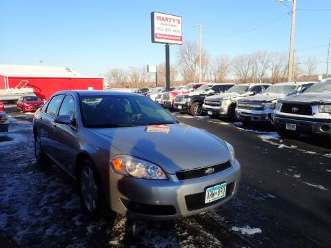 2008 Chevrolet Impala for sale at Marty's Auto Sales in Savage MN