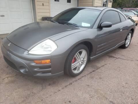 2003 Mitsubishi Eclipse for sale at Gordon Auto Sales LLC in Sioux City IA