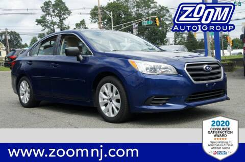 2017 Subaru Legacy for sale at Zoom Auto Group in Parsippany NJ