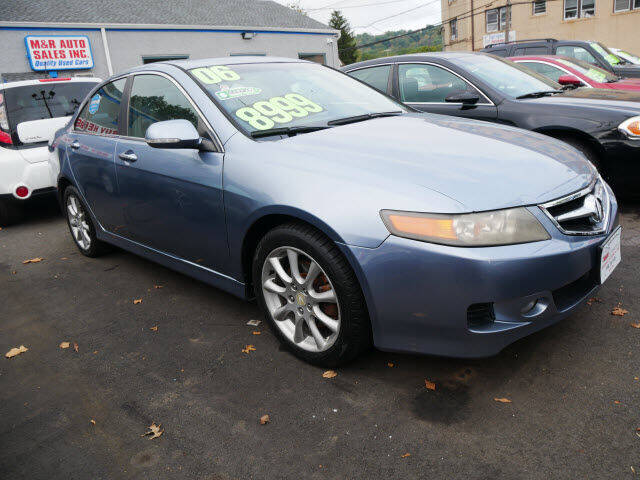 2006 Acura TSX for sale at M & R Auto Sales INC. in North Plainfield NJ