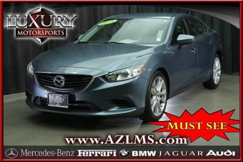 2015 Mazda MAZDA6 for sale at Luxury Motorsports in Phoenix AZ