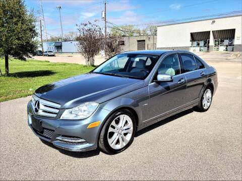 2012 Mercedes-Benz C-Class for sale at Image Auto Sales in Dallas TX
