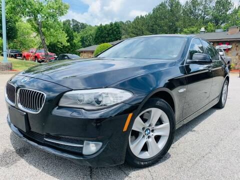 2013 BMW 5 Series for sale at Classic Luxury Motors in Buford GA