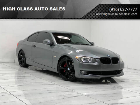 2011 BMW 3 Series for sale at HIGH CLASS AUTO SALES in Rancho Cordova CA