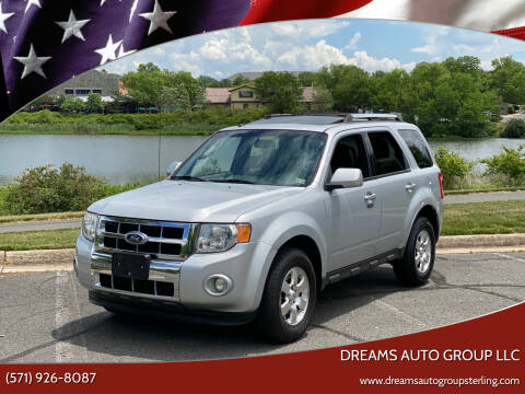 2012 Ford Escape for sale at Dreams Auto Group LLC in Sterling VA