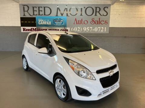 2014 Chevrolet Spark for sale at REED MOTORS LLC in Phoenix AZ