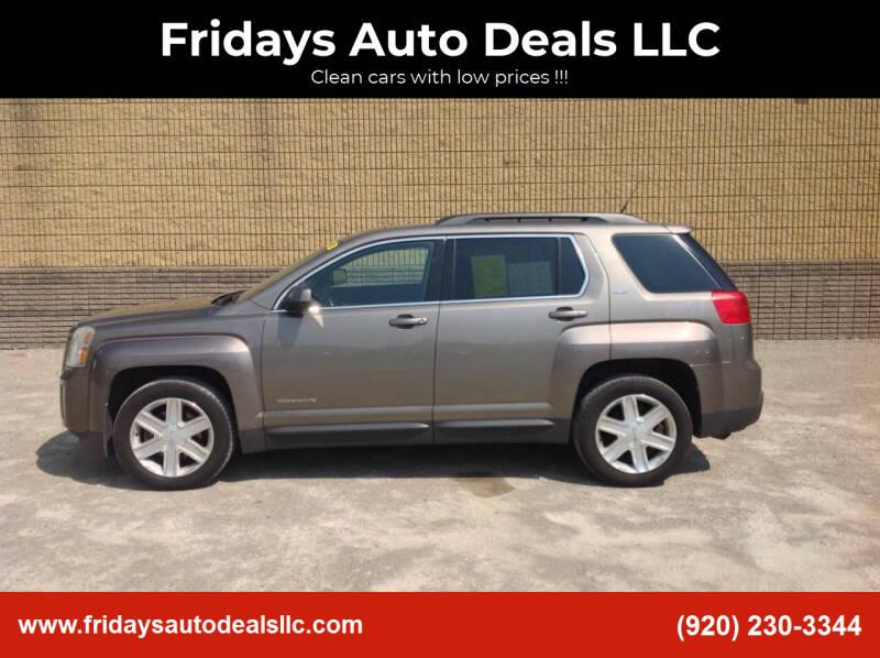 2011 GMC Terrain for sale at Fridays Auto Deals LLC in Oshkosh WI