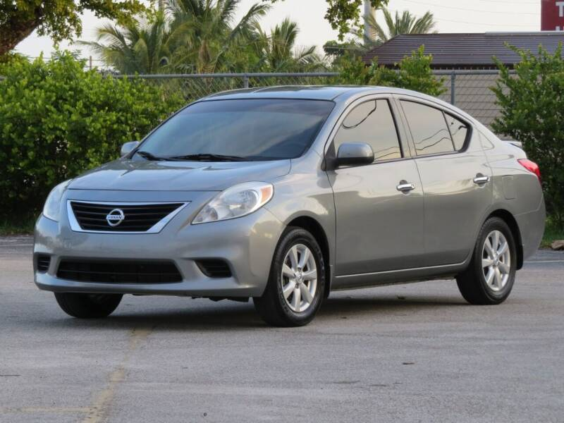 2014 Nissan Versa for sale at DK Auto Sales in Hollywood FL