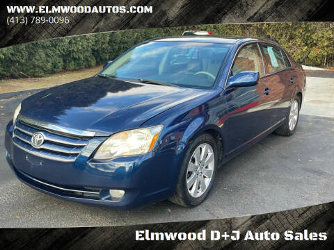 2006 Toyota Avalon for sale at Elmwood D+J Auto Sales in Agawam MA