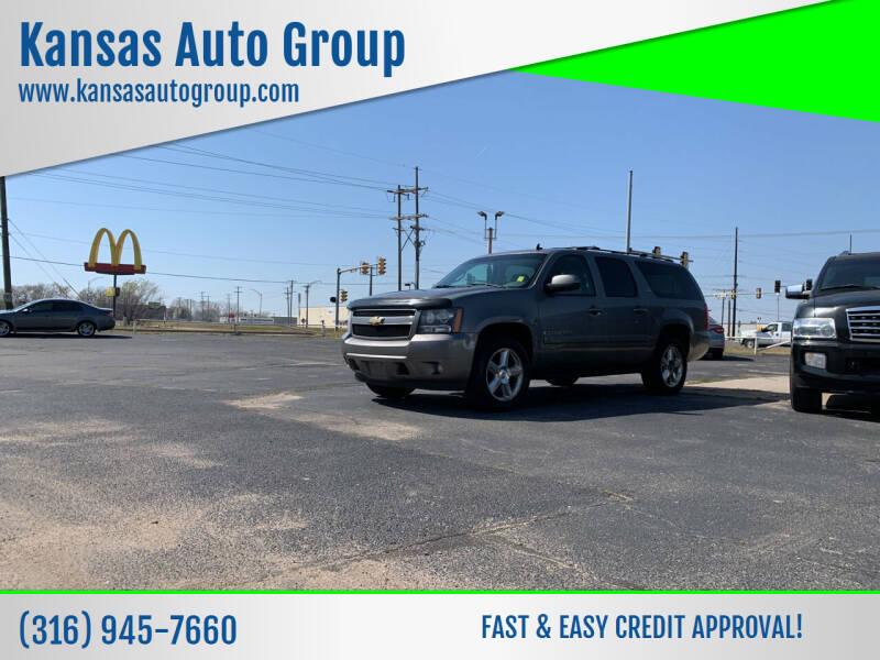 2008 Chevrolet Suburban for sale at Kansas Auto Group in Wichita KS