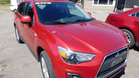 2015 Mitsubishi Outlander Sport for sale at M & M Auto Sales LLc in Olympia WA