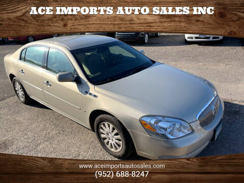 2008 Buick Lucerne for sale at ACE IMPORTS AUTO SALES INC in Hopkins MN