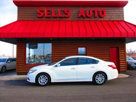2016 Nissan Altima for sale at Sells Auto INC in Saint Cloud MN