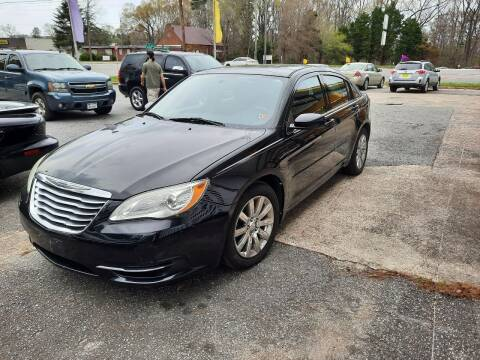 2011 Chrysler 200 for sale at PIRATE AUTO SALES in Greenville NC