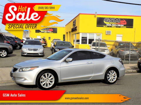 2009 Honda Accord for sale at GSM Auto Sales in Linden NJ