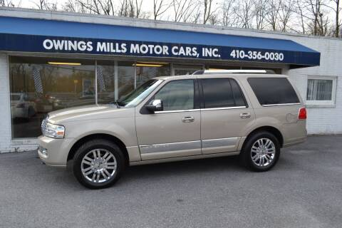 2008 Lincoln Navigator for sale at Owings Mills Motor Cars in Owings Mills MD