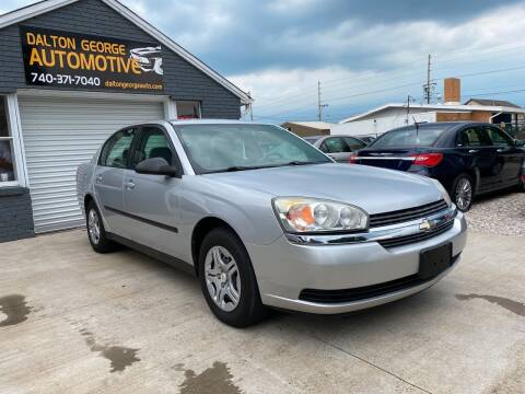 2005 Chevrolet Malibu for sale at Dalton George Automotive in Marietta OH