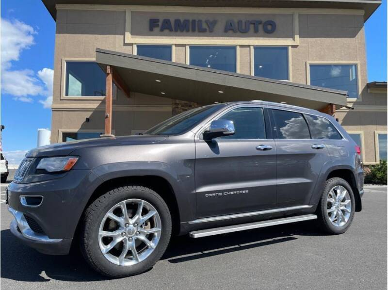 2014 Jeep Grand Cherokee for sale at Moses Lake Family Auto Center in Moses Lake WA