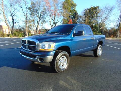 2006 Dodge Ram Pickup 2500 for sale at CR Garland Auto Sales in Fredericksburg VA