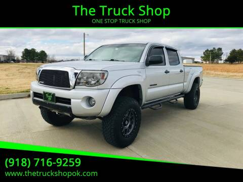 2005 Toyota Tacoma for sale at The Truck Shop in Okemah OK