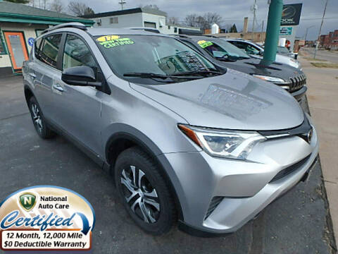 2017 Toyota RAV4 for sale at Jon's Auto in Marquette MI