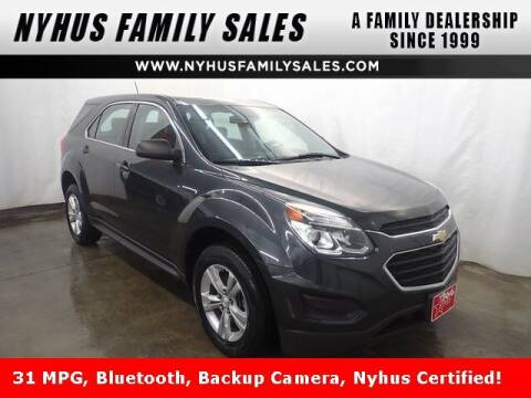 2017 Chevrolet Equinox for sale at Nyhus Family Sales in Perham MN
