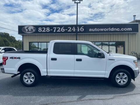 2018 Ford F-150 for sale at AutoWorld of Lenoir in Lenoir NC