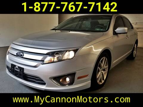 2010 Ford Fusion for sale at Cannon Motors in Silverdale PA