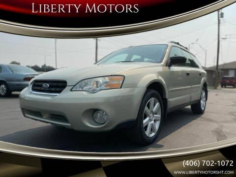 2007 Subaru Outback for sale at Liberty Motors in Billings MT