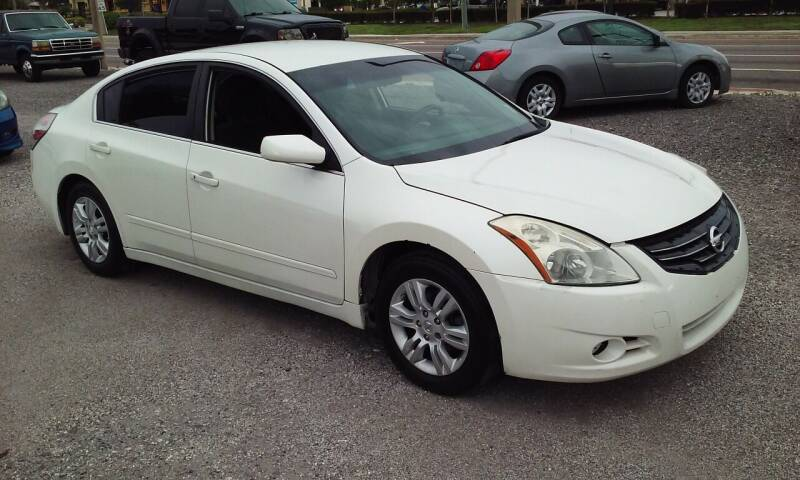 2010 Nissan Altima for sale at Pinellas Auto Brokers in Saint Petersburg FL