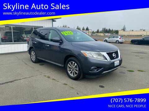 2014 Nissan Pathfinder for sale at Skyline Auto Sales in Santa Rosa CA