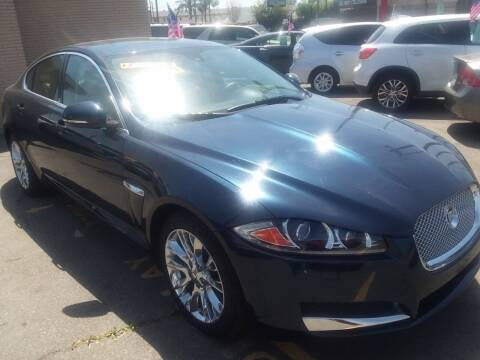 2013 Jaguar XF for sale at ZOOM CARS LLC in Sylmar CA