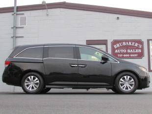 2016 Honda Odyssey for sale at Brubakers Auto Sales in Myerstown PA