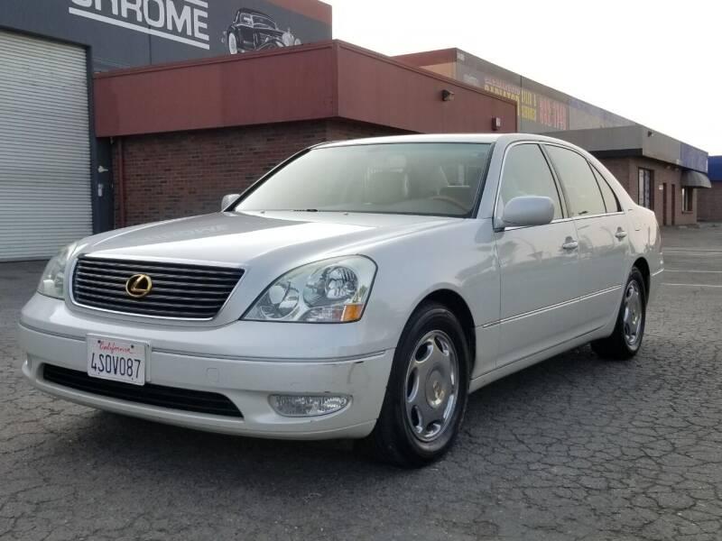 2001 Lexus LS 430 for sale at California Auto Deals in Sacramento CA