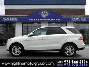 2013 Mercedes-Benz M-Class for sale at Highline Group Motorsports in Lowell MA