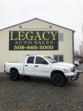 2007 Dodge Ram Pickup 1500 for sale at Legacy Auto Sales in Toppenish WA
