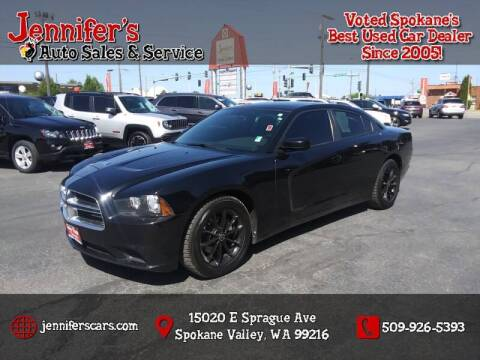 2012 Dodge Charger for sale at Jennifer's Auto Sales in Spokane Valley WA